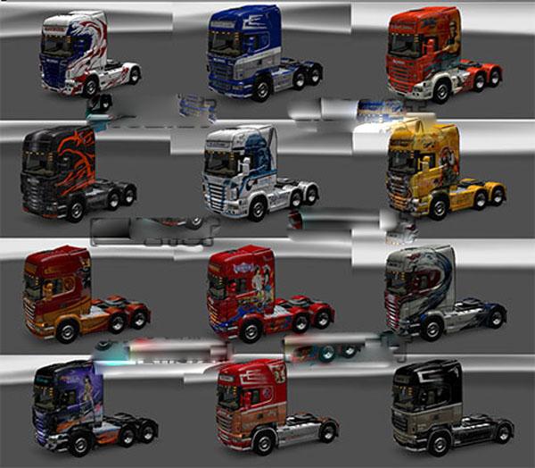 Scania 12 skins