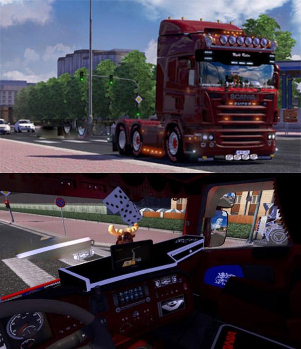 Scania 2008 Tuning Interior