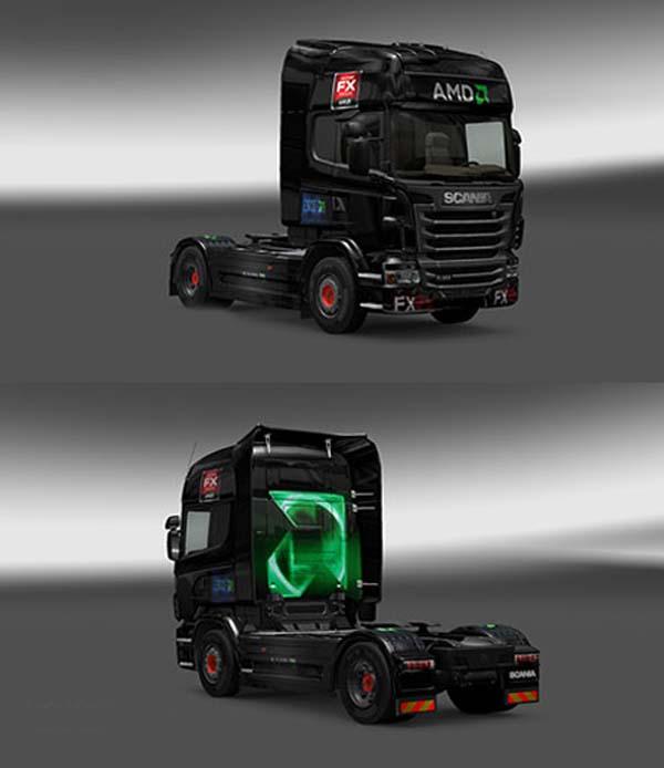 Scania AMD Skin