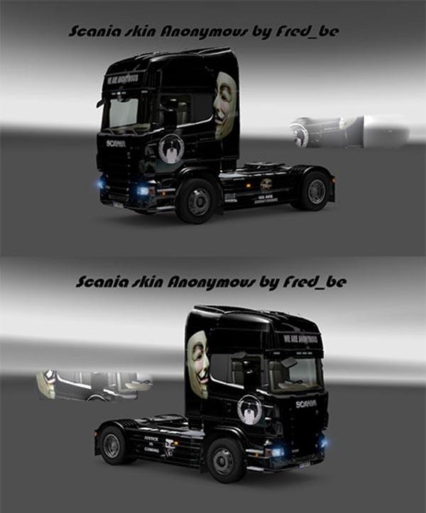 Scania Anonymous skin