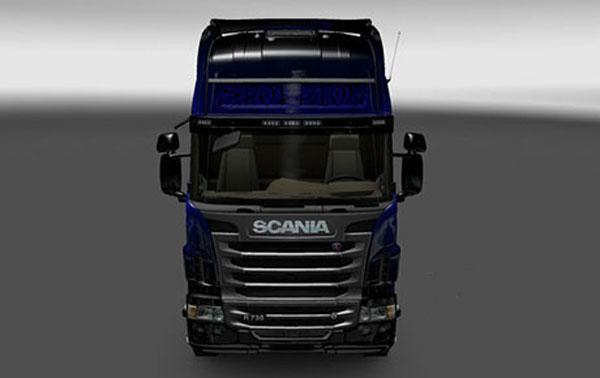 Scania Blue Scorpion Skin