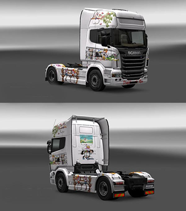 Scania Diddl Skin