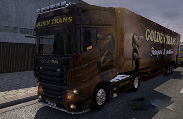 Scania Golden Trans Skin