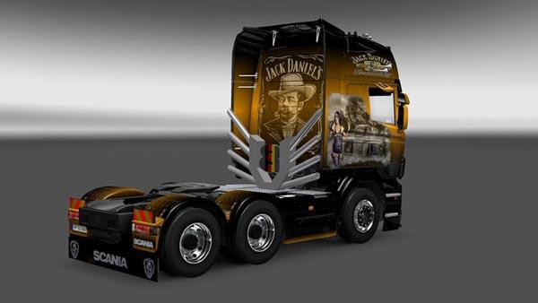 Scania Jack Daniels