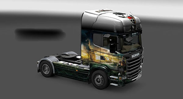 Scania Pirates of the Caribbean Skin