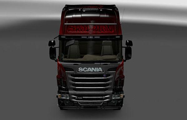 Scania Red Scorpion Skin