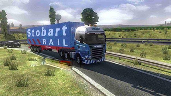 Stobart rail container