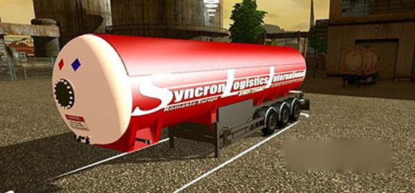 Tank Syncron Logistic International Trailer