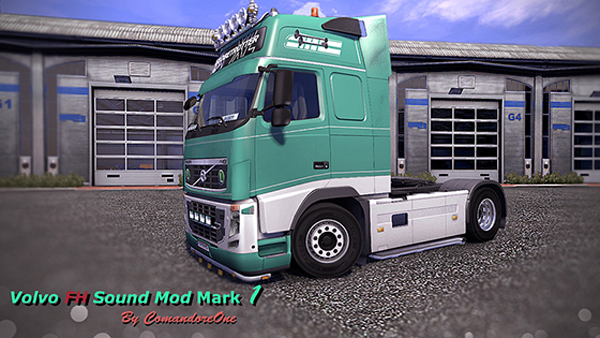 VOLVO FH Realistic Sound Engine Straight Pipes