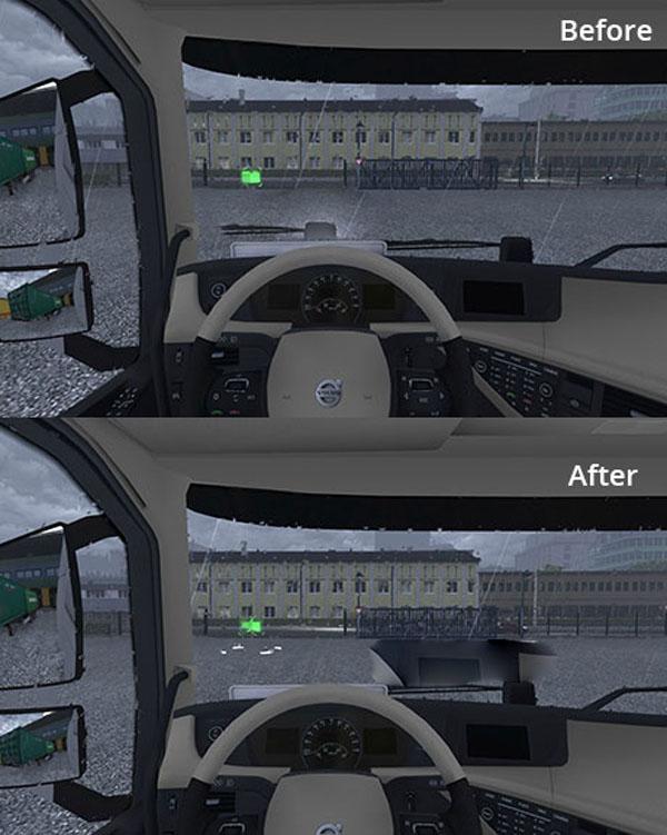 Volvo FH 2012 – Camera fix