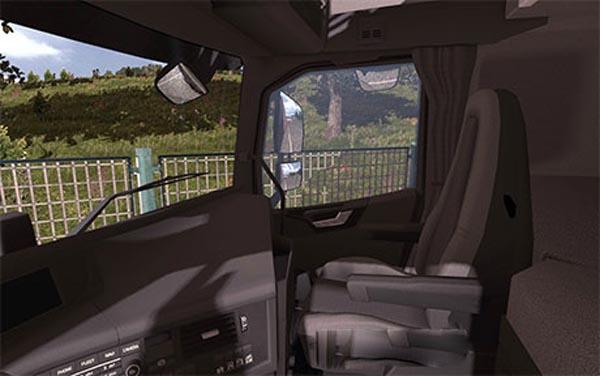 Volvo FH 2013 black interior