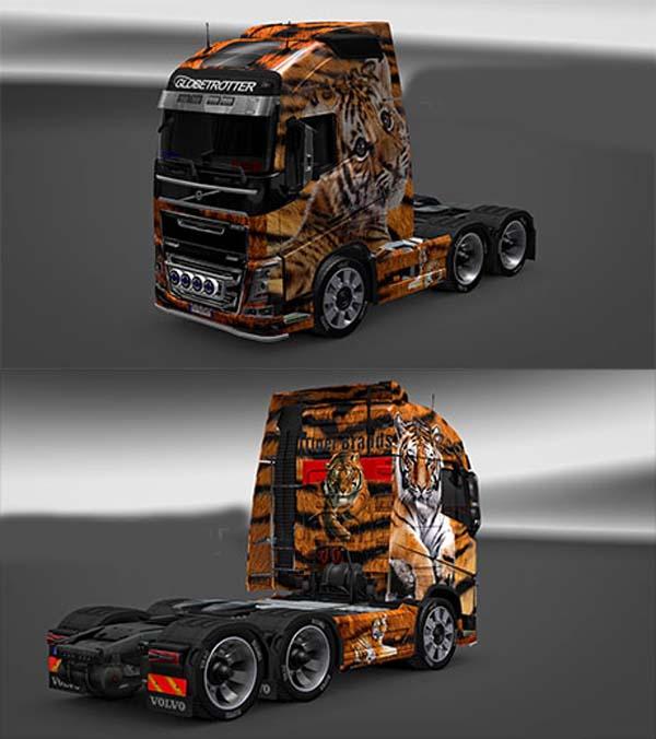 Volvo FH16 2012 Tiger skin