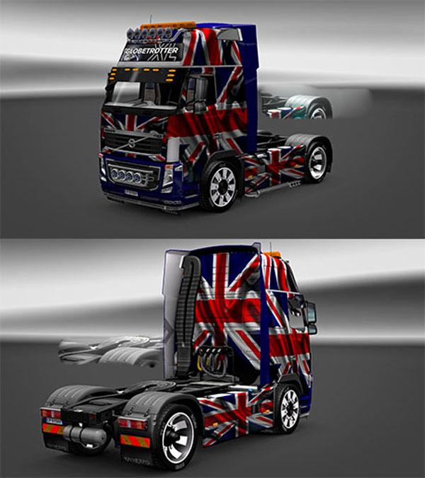 Volvo FH16 UK skin