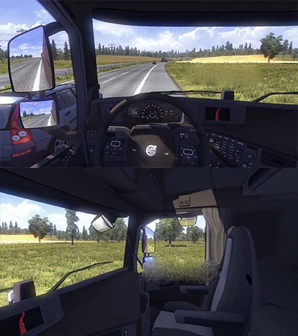 Volvo FH2012 Dark Interior