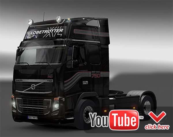 Volvo, Renault, Man open-pipe sound