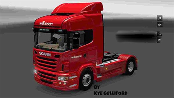 Wilkinson Scania Highline skin