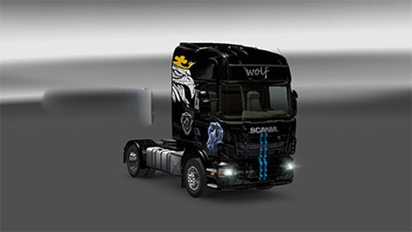Wolf skin for Scania