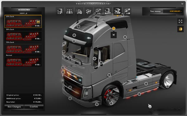 Deluxe Tuning Pack For All Truck and All Versions