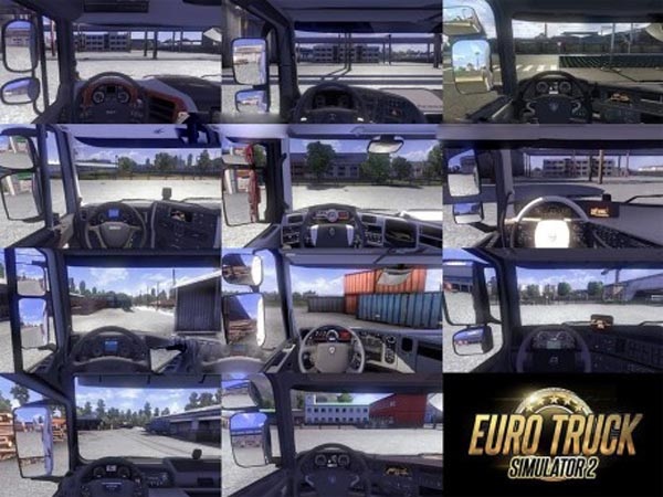 Real interiors cameras for all trucks