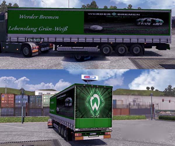 SV Werder Bremen Trailer Skin