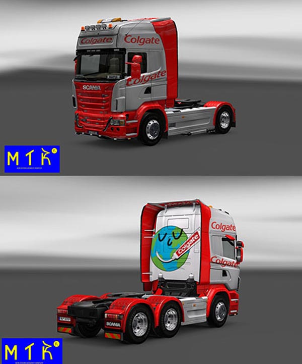 Scania Colgate Skin