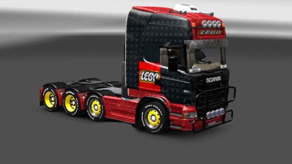Scania Full Lego Skin