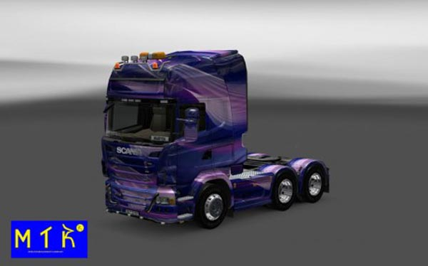 Scania Light Wave Skin