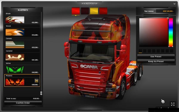 Scania Streamline Rework