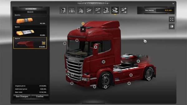 Scania Streamline Spoiler