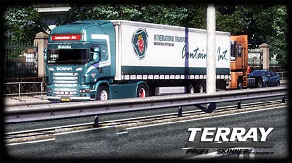 Scania trailer