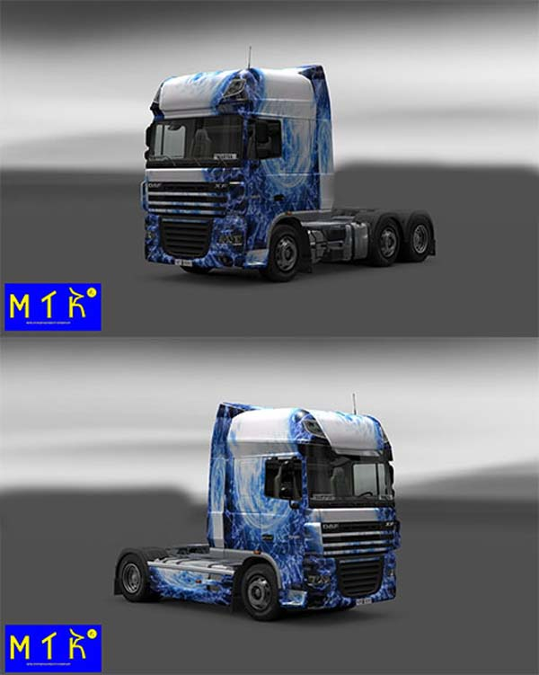 Skin DAF Light Blue