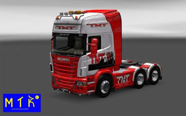 Skin Scania TNT Drink