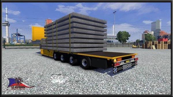 TZ panel transport trailer