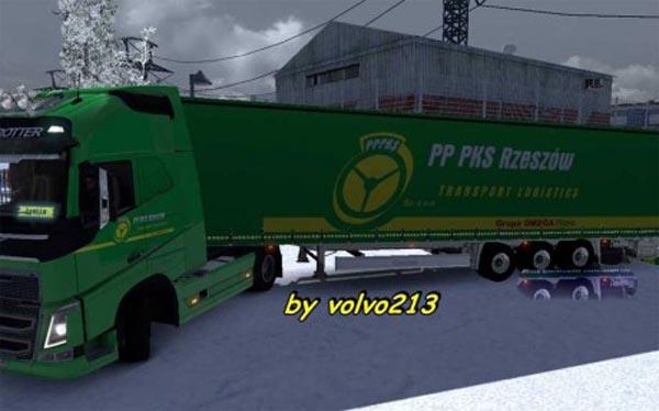 Volvo FH 2012 + Krone PP PKS Rzeszow