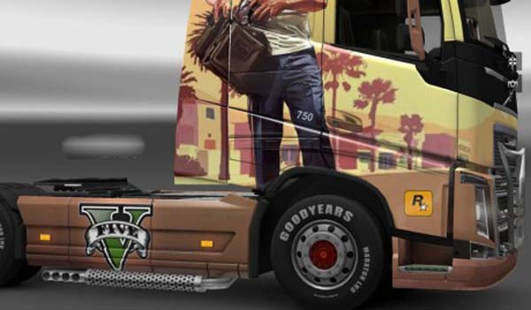 Volvo FH 2013 Grand Theft Auto V Skin