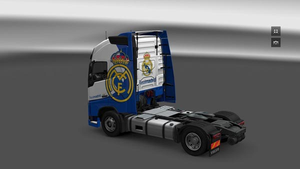 Volvo FH16 Real Madrid Skin