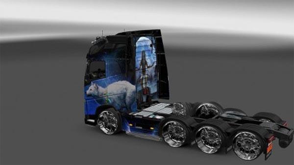 Volvo Wolf skin