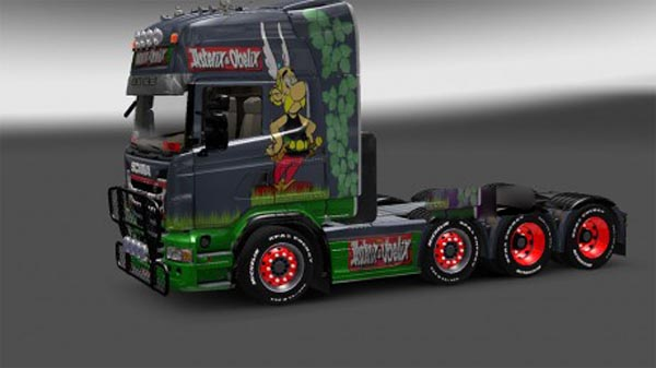 Asterix skin for Scania