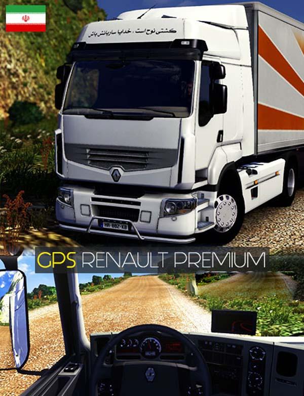 GPS For Renault Premium