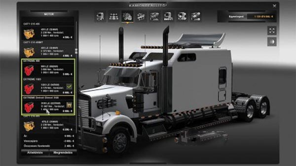 Kenworth Long-New Engine