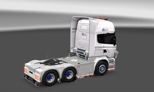 Kjell hansen shipping skin Scania r2009