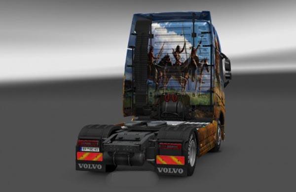 Volvo FH 2012 Apaches Skin