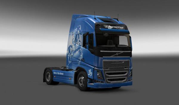 Volvo FH 2012 Year of the Horse Skin