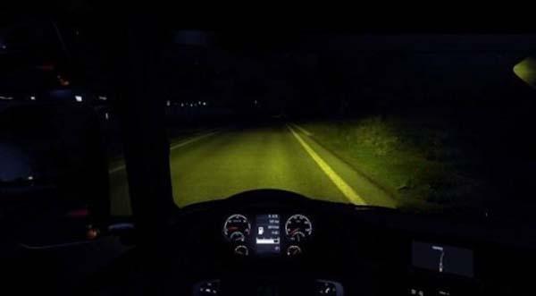Yellow headlights