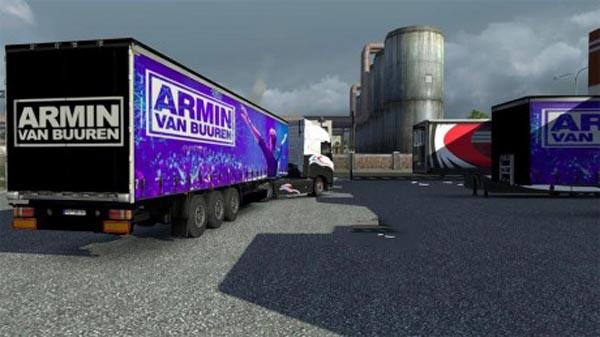 rmin van Buuren trailer