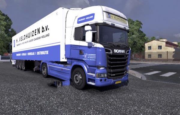 H. Veldhuizen BV SKIN – Scania & Trailer