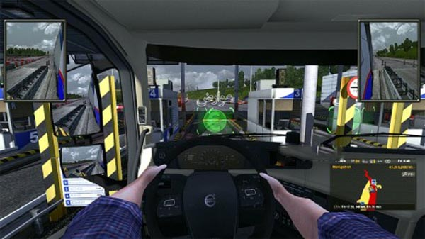 Hand On Wheel Streeing Beta Version