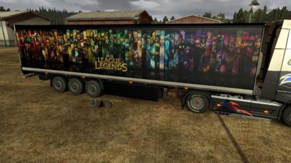League of Legends Trailer Skin