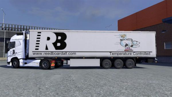Reed Boardall Volvo + trailer