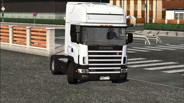 Scania 124L + Interior